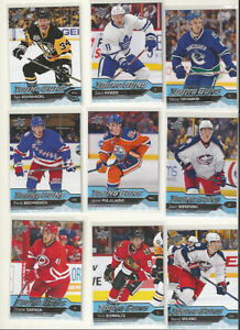2016-17 Upper Deck Young guns rookie hockey cards!