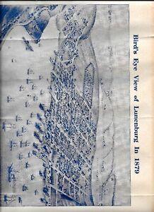 BIRDS EYE VIEW OF LUNENBURG IN 1879