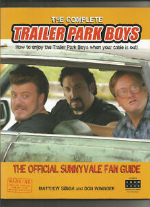 THE COMPLETE TRAILER PARK BOYS 186 PAGES TONS OF PHOTOS