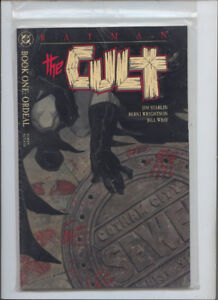 BATMAN THE CULT  4 ISSUE GRAPHIC NOVELS  FIRST PRINTING