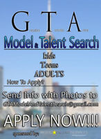 ! NEW OPPORTUNITY for Upcoming MODELS and ACTORS !