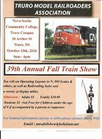 Truro Model Railroaders Association 39th Annual Train Show