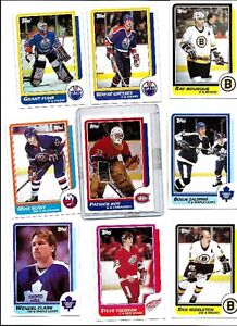 TOPPS 1986/87 HOCKEY SET MINTY EXCELLENT CENTERING