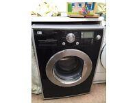 Black Washing Machine (LG)