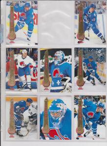 série carte hockey