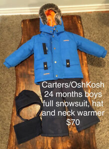 Toddler boy and girl outerwear