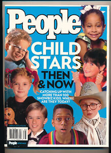 People Magazine 1000 Greatest Moments-Child Stars Then and Now