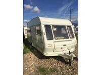 Coachman genius 4 berth end washroom touring caravan 1995