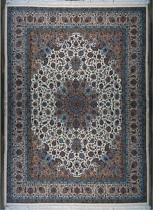 Grand Master Vintage Mashad Persian Rug 13x10 One of Kind