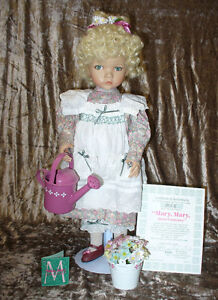 Mary, Mary, Quite Contrary - Porcelian Doll