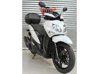 2016 16 YAMAHA HW 125 XENTER WHITE SCOOTER &TOP BOX HPI CLEAR 12K TRADE SALE