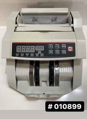 Money Bill Counter Machine Cash Counting Counterfeit Detector Uv