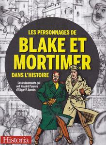 Les Personnages de Blake et Mortimer dans l'histoire :