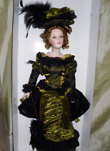 Timeless Treasures 18 inch Porcelain doll