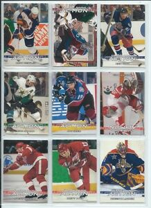 2003-04 In The Game Action Hockey Card Set #1-600 - Book $80.00 London Ontario image 1