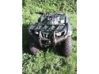YAMAHA COMMAND 4X4 QUAD BIKE