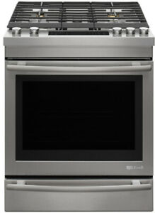 "Jenn-Air JDS1450CFS 30"" Dual Fuel Range With 5 Sealed Burners"