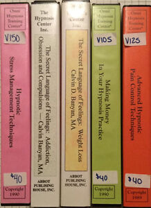 Large Hypnosis Practitioner Collection - DVDs Tapes Books West Island Greater Montréal image 4
