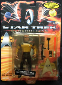 """Star Trek Generations"" Lieutenant Commander Worf Action Figure"