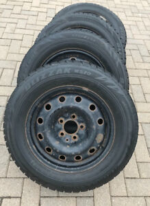 WINTER TIRES AND RIMS - 215/65/R16