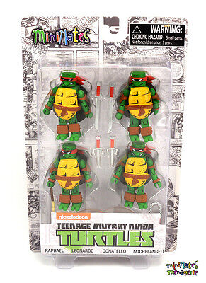 TMNT Teenage Mutant Ninja Turtles Minimates Mirage Color Box Set