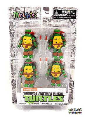 Tmnt Teenage Mutant Ninja Turtles Minimates Mirage Farbe Box Set