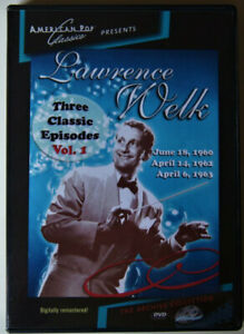 BEST OF LAWRENCE WELK 3 CLASSIC EPISODES VOL. 1,2.3,4  2 SEALED