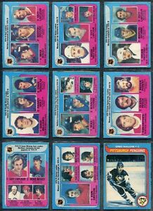 BUYING HOCKEY CARDS TO COMPLETE SETS -> 60's and 70's