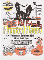 Kid Friendly Haunted House