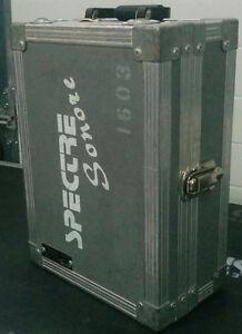 Coffre valise gris