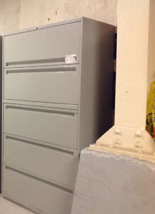 5-DR LATERAL FILE CABINET