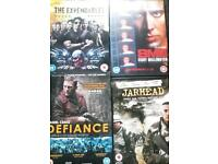 Selection of 12 DVDs