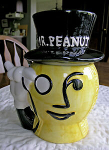 Nabisco-Mr Peanut Candy Jar