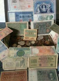 Coins & Banknotes WWI & WWII Huge lot