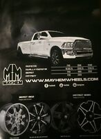 "2004-2016 FORD F-150 17"" Mud Tire and Mayhem Alloy Rims!!"