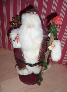 Decorative wind-up Santa