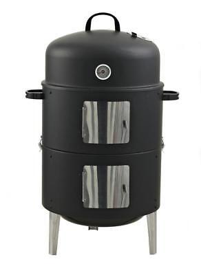 Räucherofen Smoker XL 3 in 1 Watersmoker BBQ Grill Feuerstelle Wagner RS400