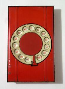 Vintage Dial-a-Number Enamel Address Book