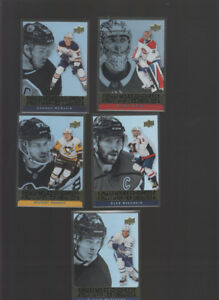 2018-19 TIM HORTONS HOCKEY SINGLES INSERTS AND SETS