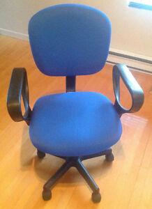 Chaise ajustable pour ordinateur ou bureau Saguenay Saguenay-Lac-Saint-Jean image 1