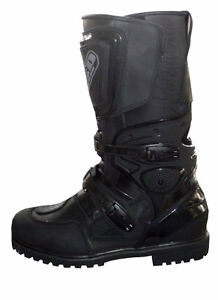 WATERPROOF, LEATHER DUAL SPORT / ADVENTURE RIDING BOOTS !!