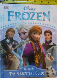 Disney's Frozen The Essential Guide Hard Cover Book