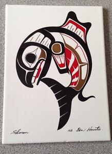 Ben Houstie native salmon art.