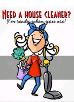 Residential and Commercial cleaning services..