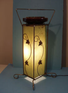 ANCIENNE LAMPE CENDRIER, 1950-60