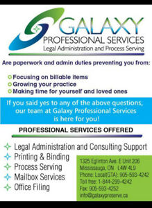 Process Serving - Legal Administration