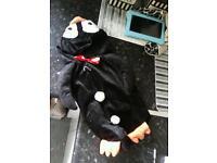 Free Dog penguin costume