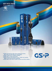 -VOLVO C.V AXLES - DRIVE SHAFTS -GSP BRAND FOR ALL VOLVO MAKES A