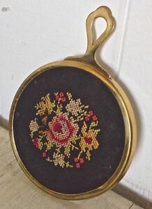 Antiquité. Collection. Magnifique petit miroir très ancien