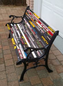 Hockey stickbench